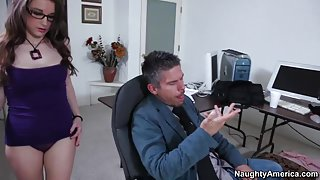 Tiffany Paige & Mick Blue in Naughty Book Worms