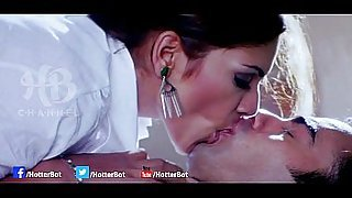 [18 ] Uncut Bollywood hot kissing scene in Club Mouth watering smooch