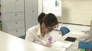 Thisato  Syouda   japanese  office  lady  1