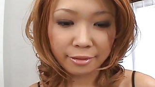 Kasumi Yamane gets fingers and sucked penises in her va