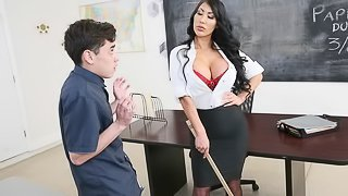 Ms. August Taylor Fucks her Student