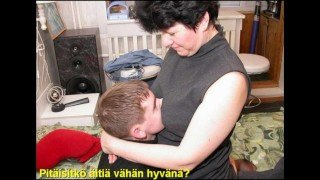 Slideshow with Finnish Captions: Mom Liza 1